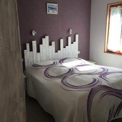 Chambre avec lit de 160*200