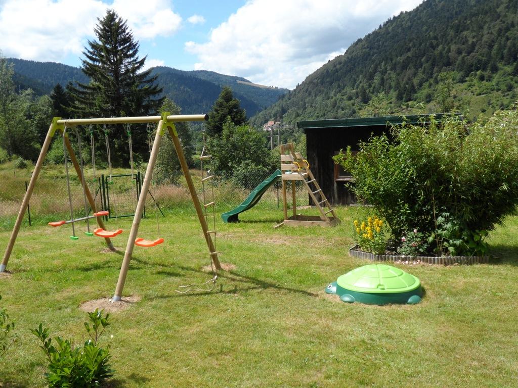 Jardin commun pour les enfants