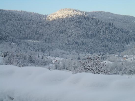 Le Parc des ballons des Vosges l'hiver